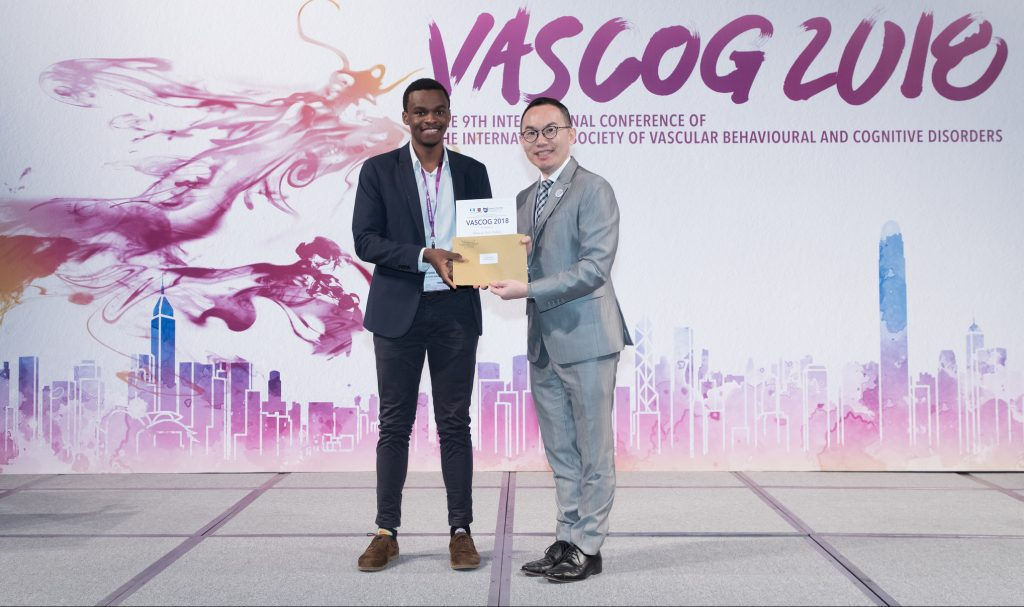 Bruno Robalo wins Young Investigator Award at VasCog 2018